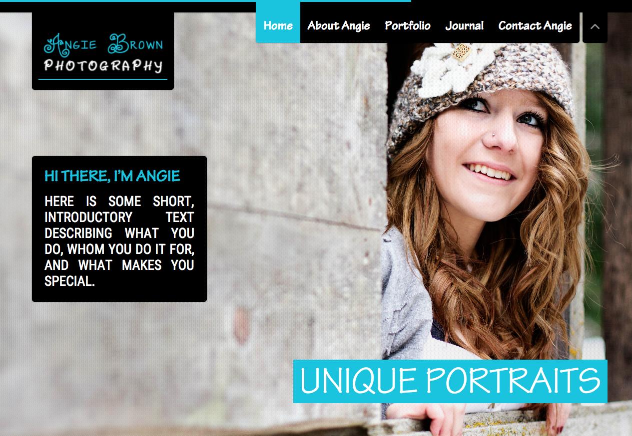 Responsive Photography Website
