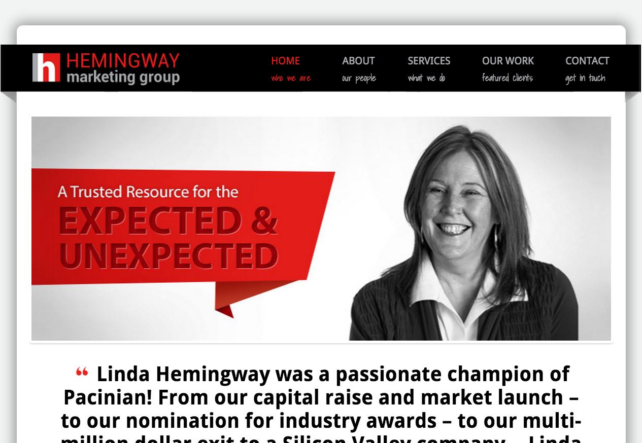 HMG – Responsive Website for Marketing Company